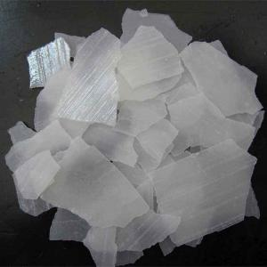 China-fabrikant Flakes / Pearls / Solid 99% (Natriumhydroxide, NaOH) Bijtende soda